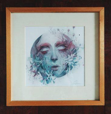 Anna Dittmann - Awake (Framed)