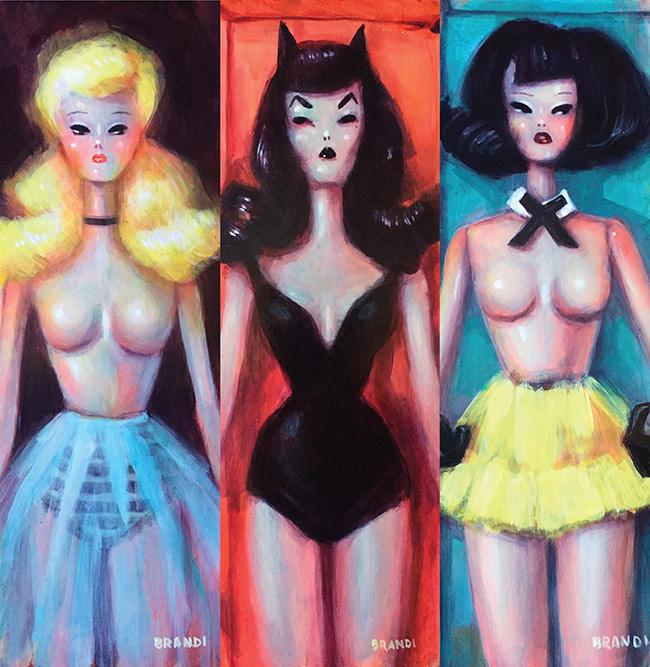 Brandi Milne - Full Body Blonde, Full Body Vampira and Full Body Brunette