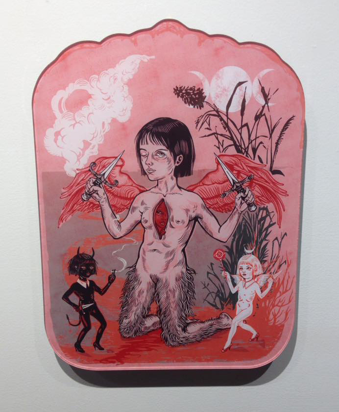 Elif Varol Ergen - Witch Mom (Hang on Wall)