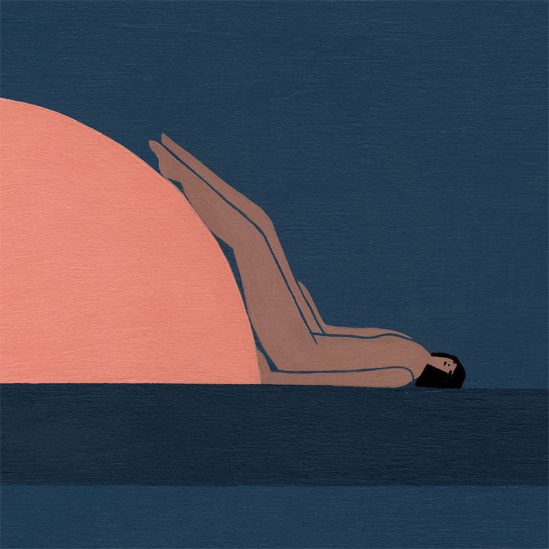 Laura Berger - Warming Ourselves (Detail 2)