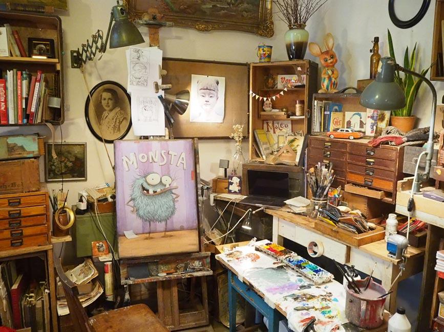 Mateo Dineen - Skally Studio Corner