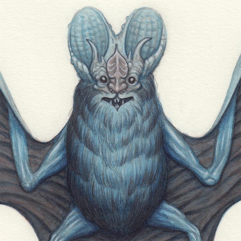 Nick Sheehy - Wizard Bat (Detail 1)