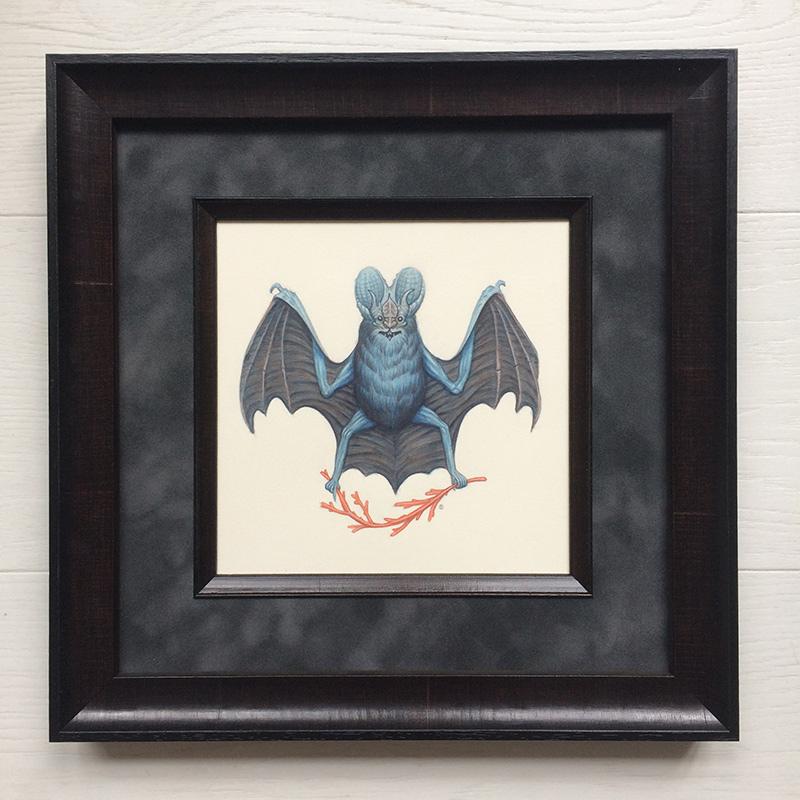 Nick Sheehy - Wizard Bat (Framed)