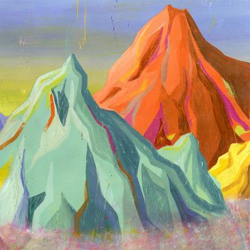 Robert Deutsch - Mountains (Detail 2)