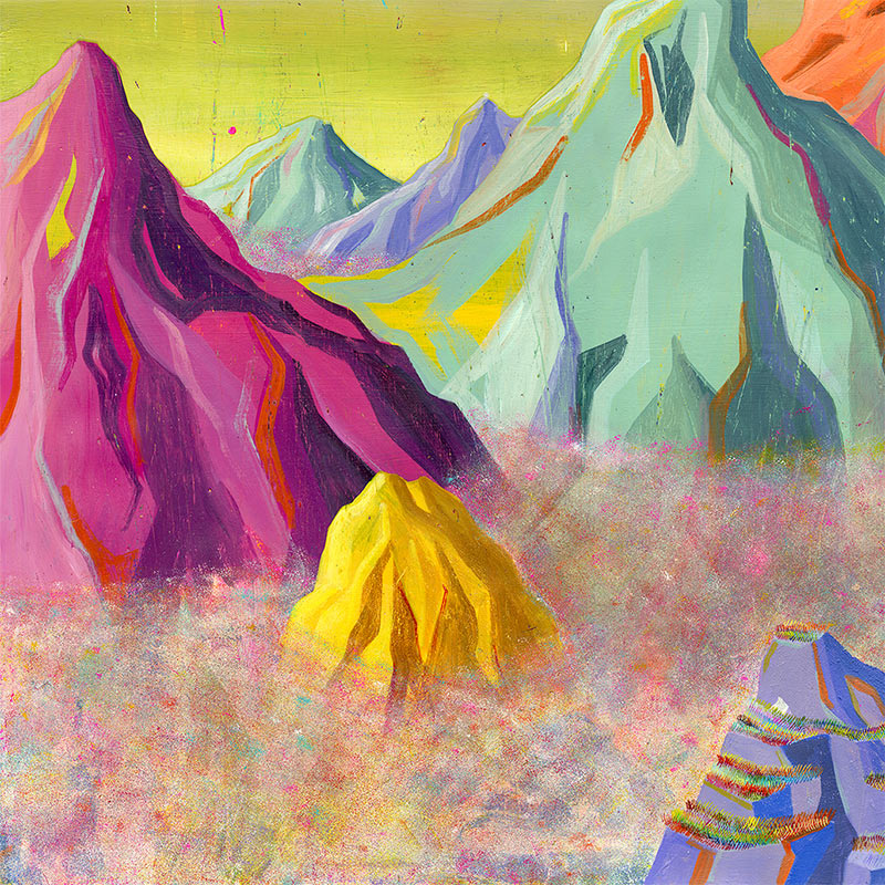 Robert Deutsch - Mountains (Detail 3)