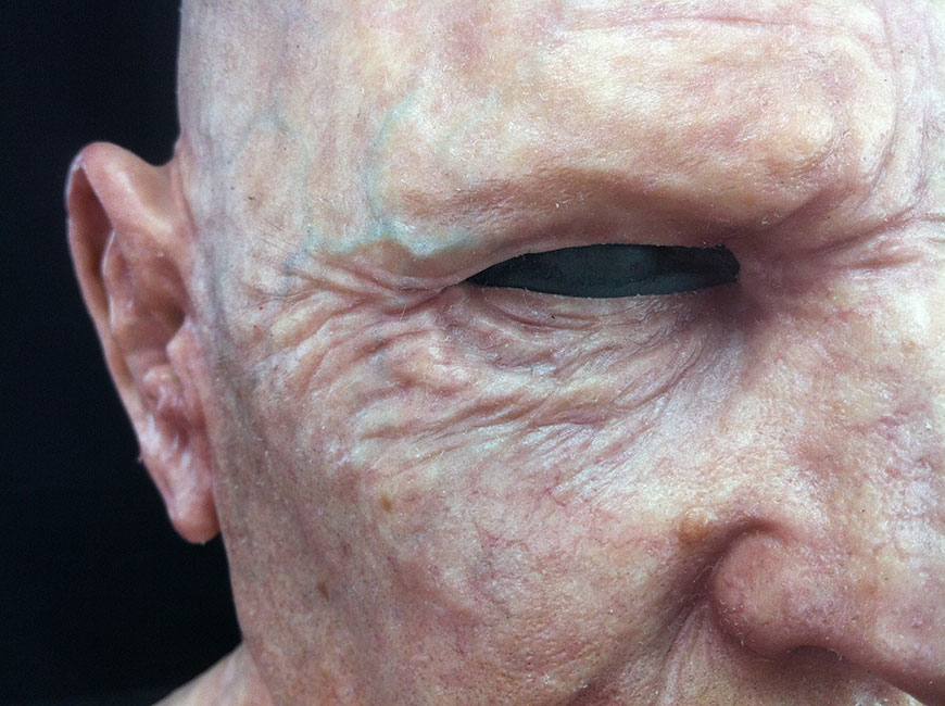 Victor LeBlanc - Old Man Skin Detail 4 (Airbrush and Silicone)
