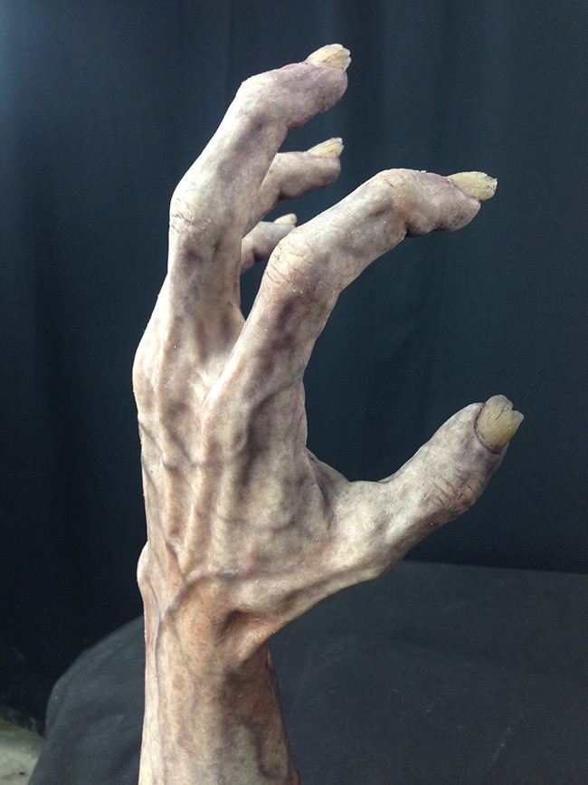 Victor LeBlanc - Zombie Hand (Painted Silicone Cast 1)