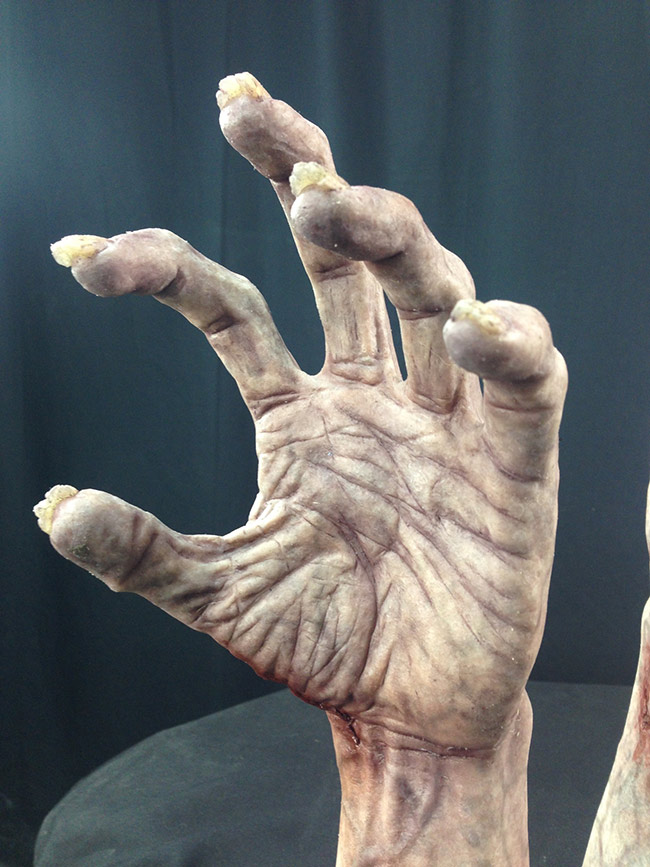 Victor LeBlanc - Zombie Hand (Painted Silicone Cast 2)
