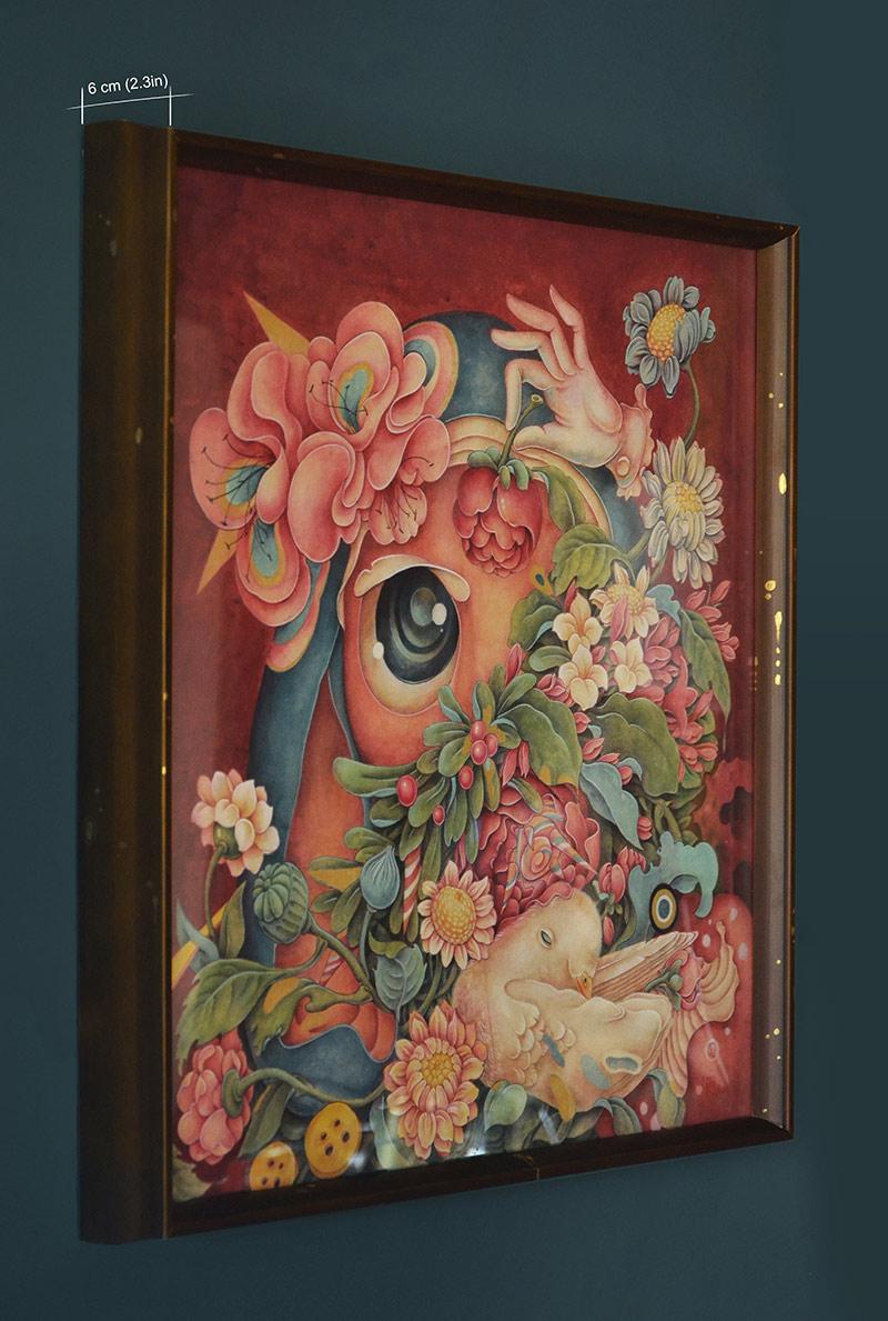 Alice Lin - Mystery #2 (Framed - Side)