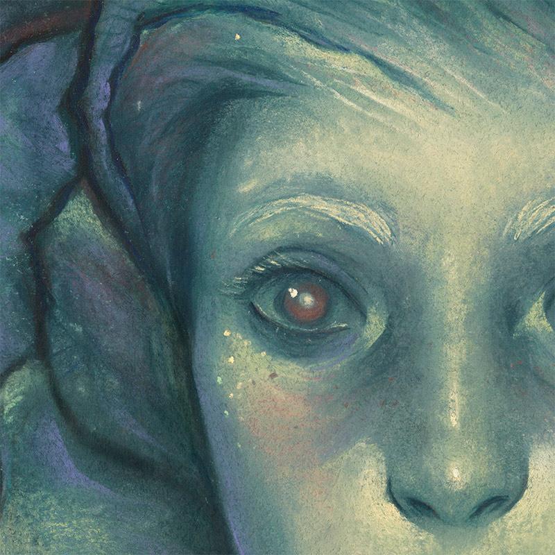 Ashly Lovett - Hellebore (Detail 1)