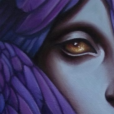 Caroline Jamhour - Angel's Eye (Detail 2)