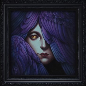 Caroline Jamhour - Angel's Eye (Framed)