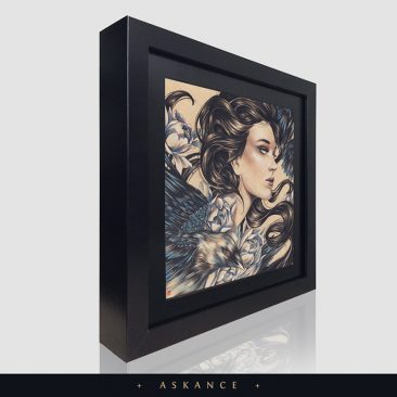Eevien Tan - Askance (Framed - Side)