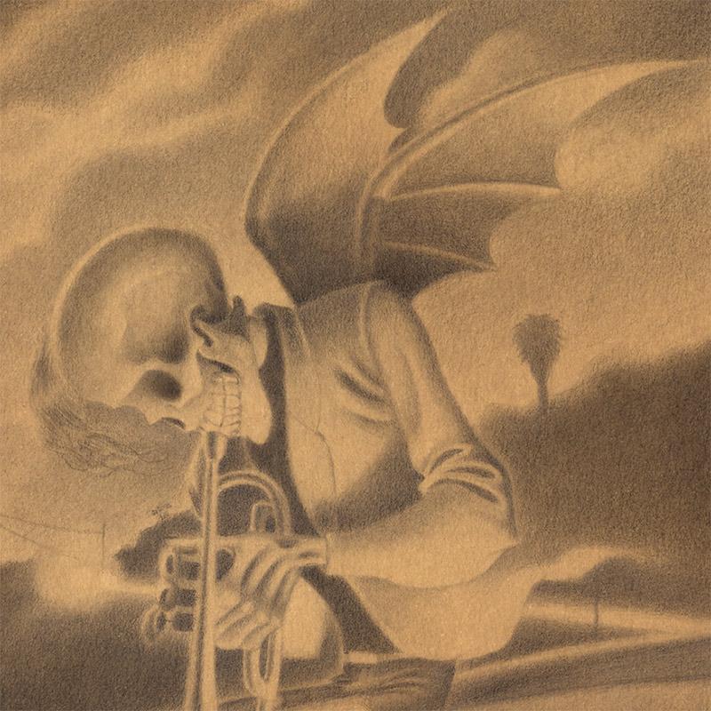 Gabi de la Merced - Last Song for the Damned (Detail 1)