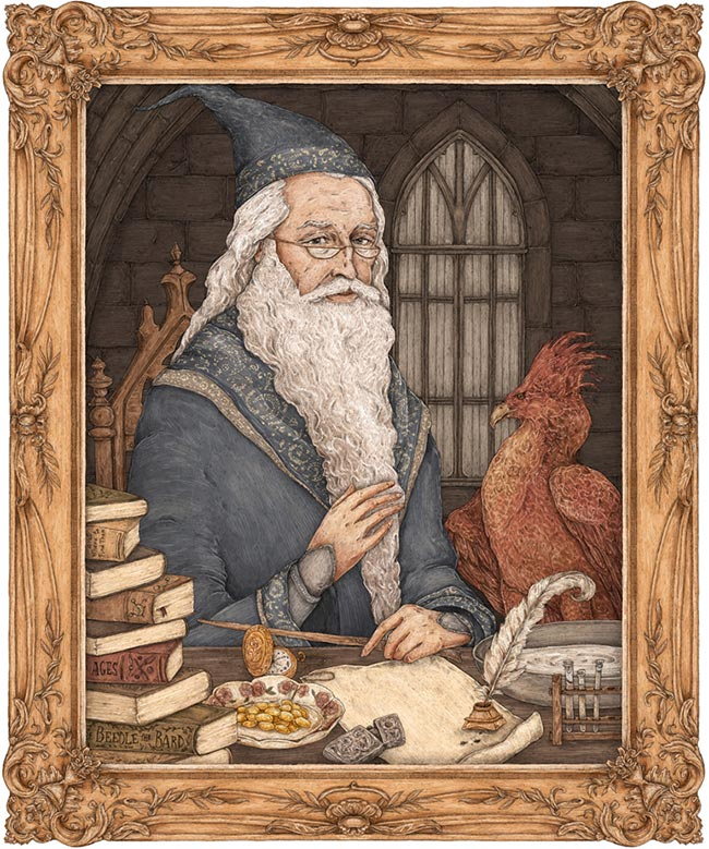 Jessica Roux - Dumbledore