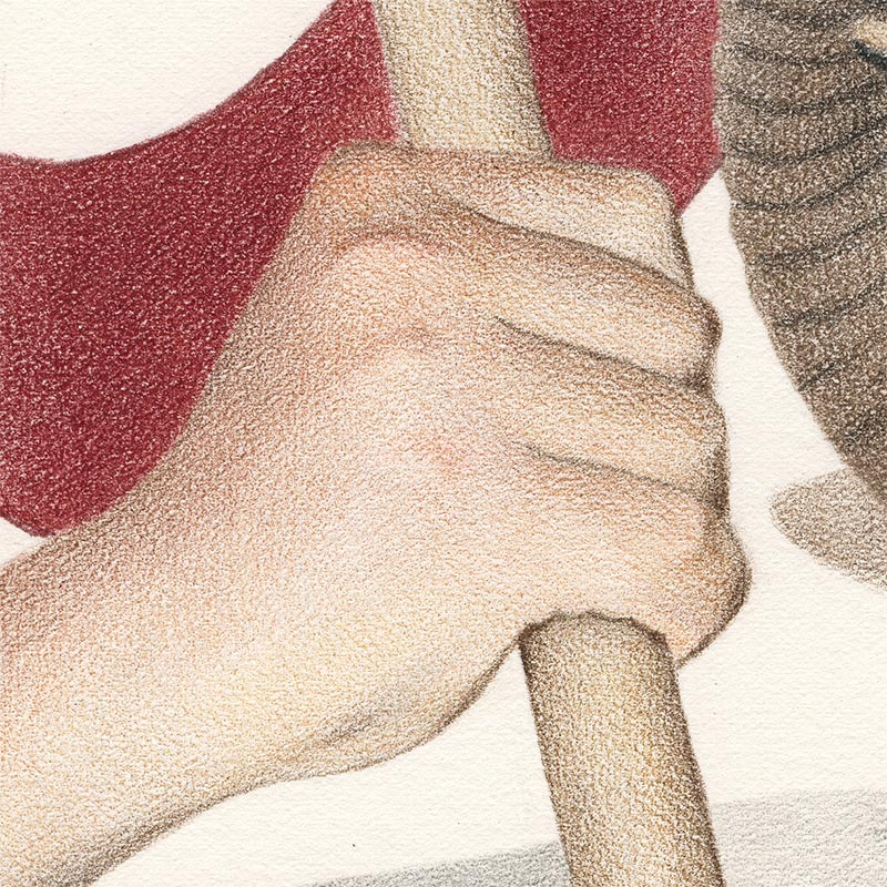 Julia Griffin - Standard Bearer (Detail 1)