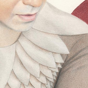 Julia Griffin - Standard Bearer (Detail 3)