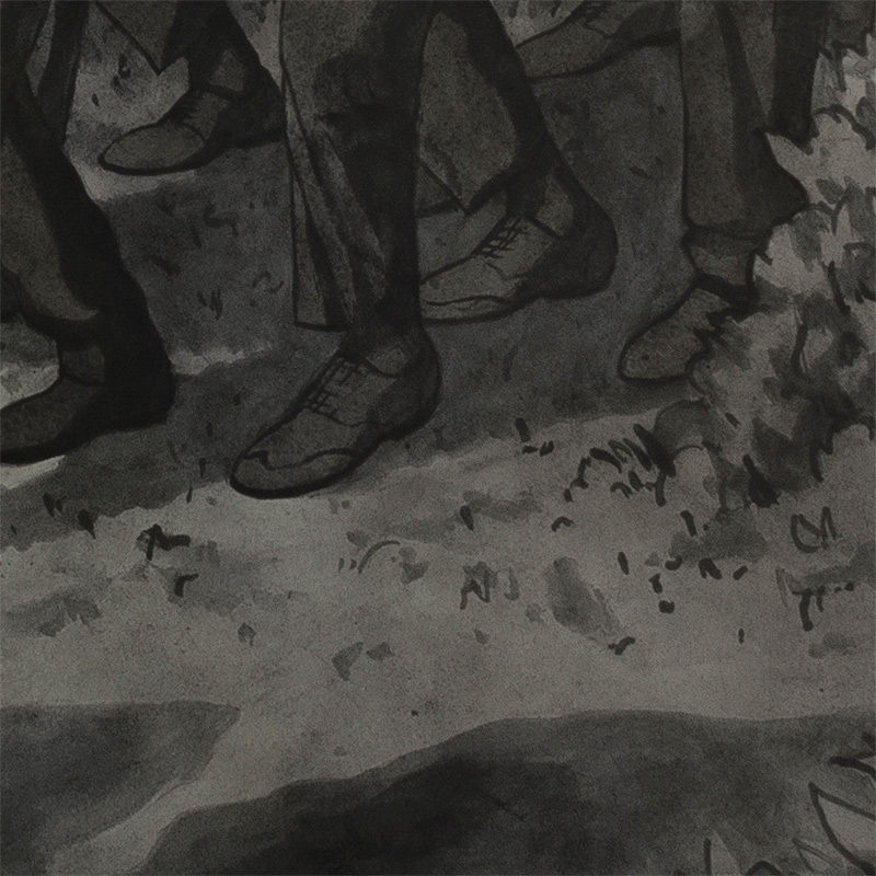 Leonardo Santamaria - Pallbearers (Detail 3)