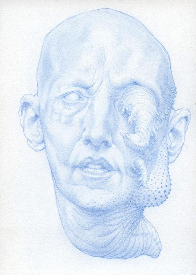 Nathan Reidt - Blue Lump Face