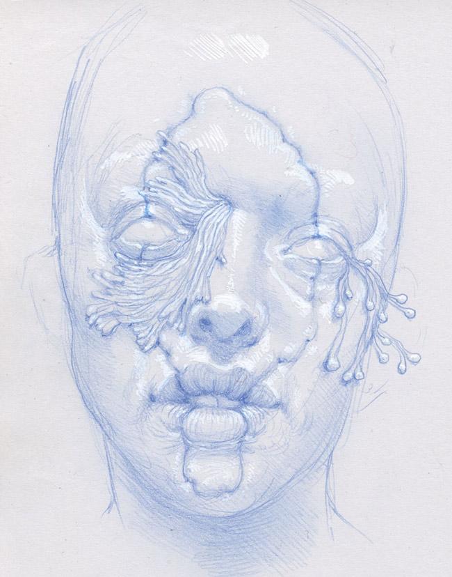 Nathan Reidt - Sketchbook Face