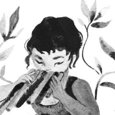 Nicole Xu - Pan Flute (Detail 1)