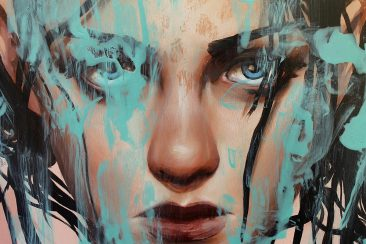 Richard Salcido - Blue (Detail 1)
