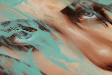 Richard Salcido - Blue (Detail 2)