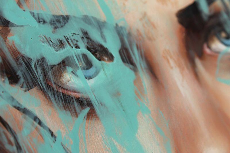 Richard Salcido - Blue (Detail 3)