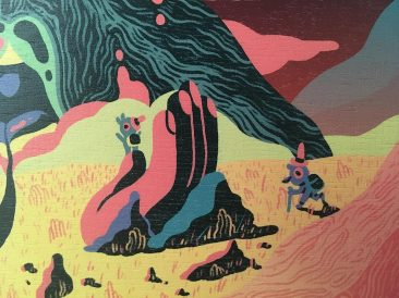 Scott Balmer - Expedition of the Great Neon Mountain (Close-up 2)