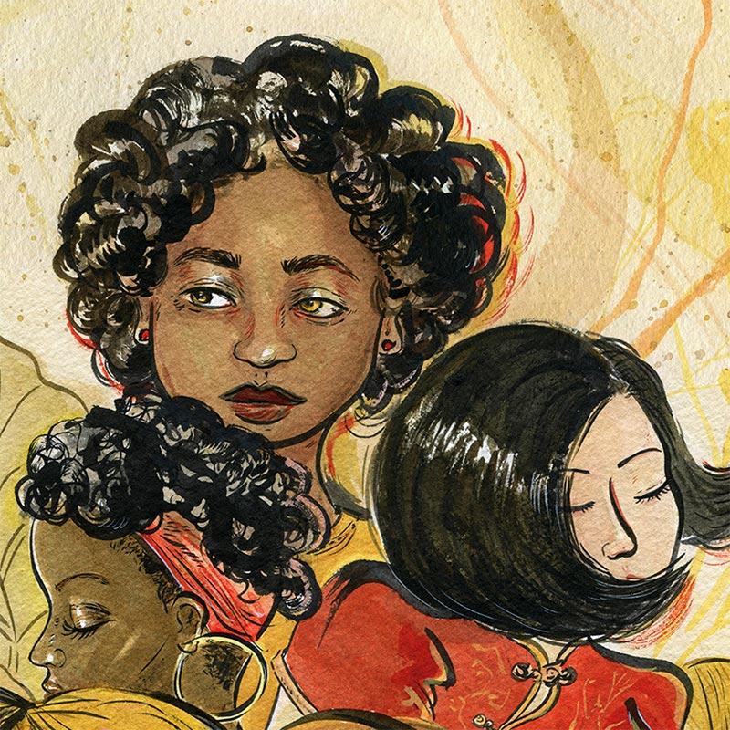 Vivian Shih - Flowers of Culture (Detail 1)