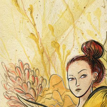 Vivian Shih - Flowers of Culture (Detail 4)
