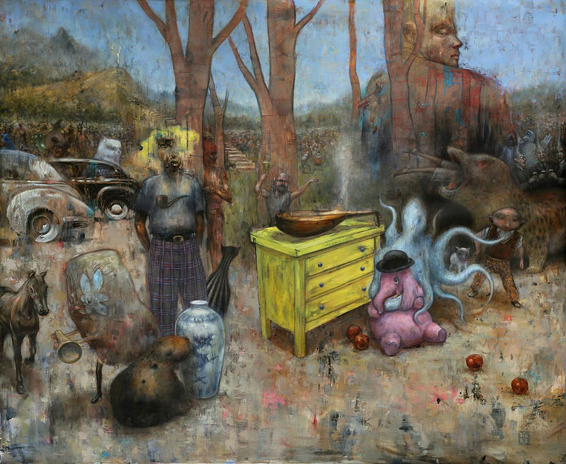 Brad Gray – The Complexities of the Human Story – Artist Profile
