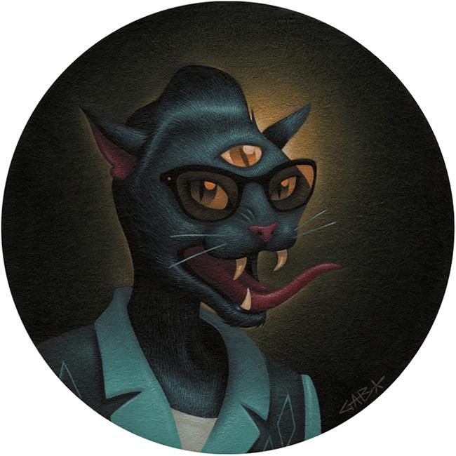 Gabi de la Merced - The Black Cat