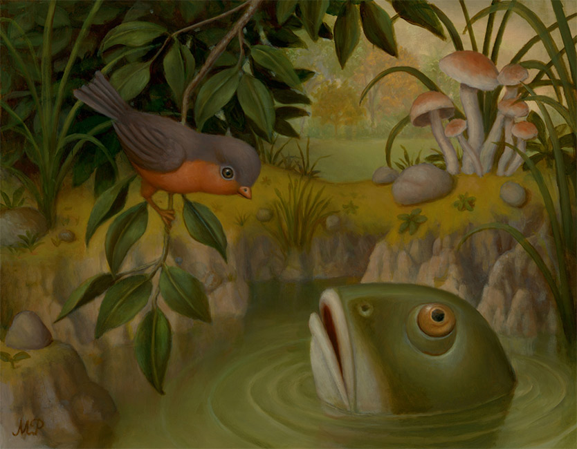 Marion Peck - Fish and Bird