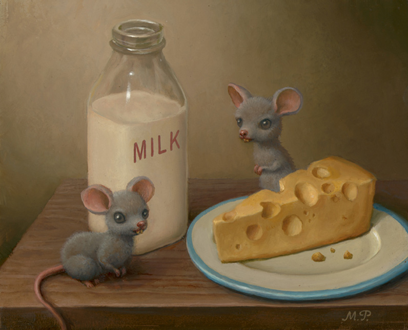 Marion Peck - Mice with Dairy Products