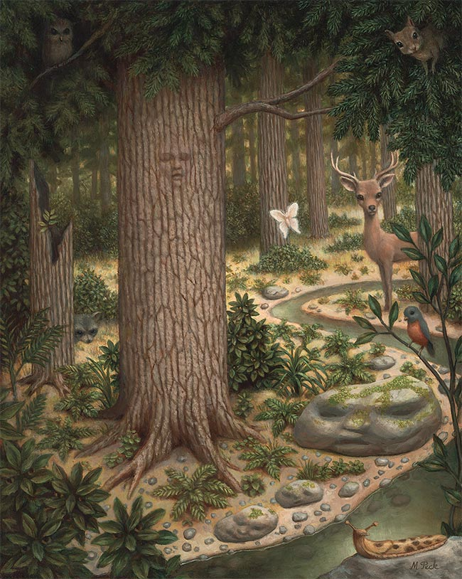 Marion Peck - The Woods