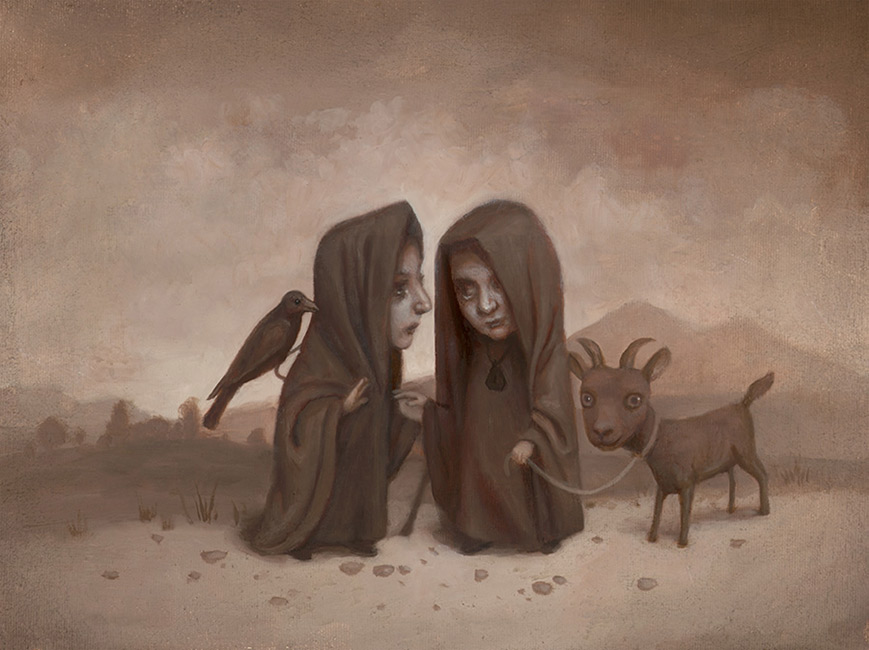 Marion Peck - Two Witches Meeting