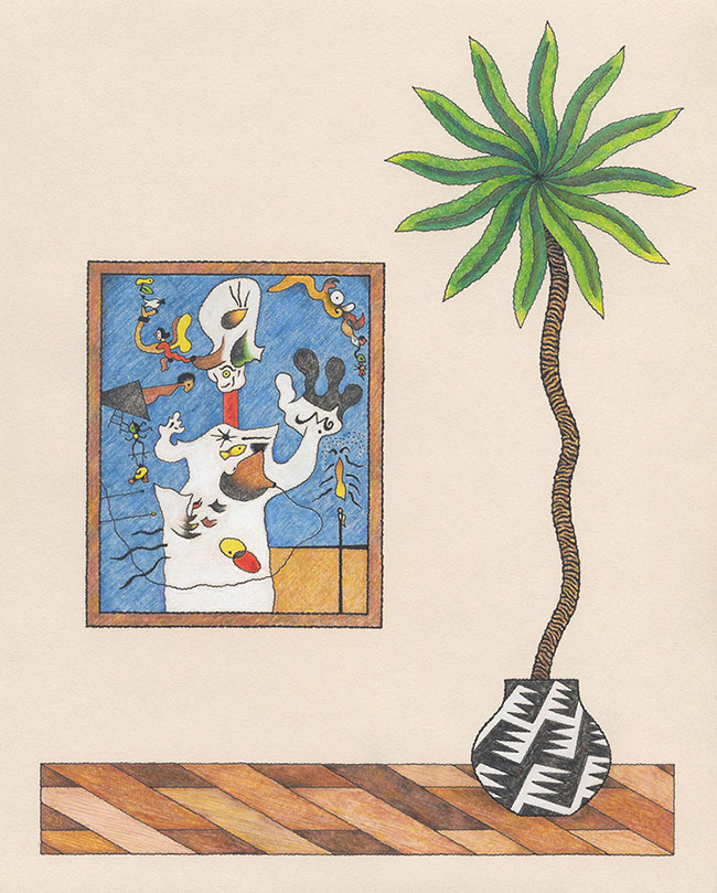 Matt Leines - A Potato, A Palm Tree