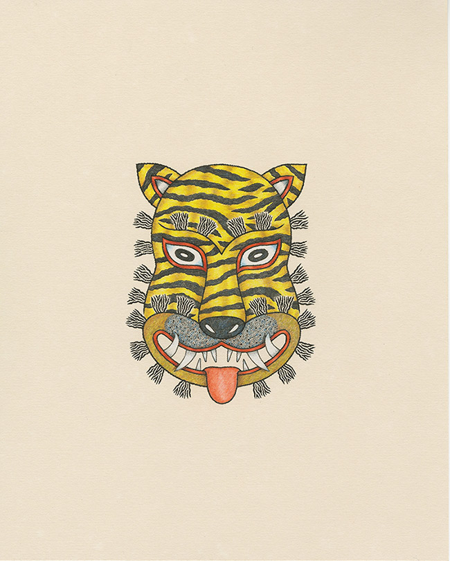 Matt Leines - Tiger Mask of the Folk Tradition