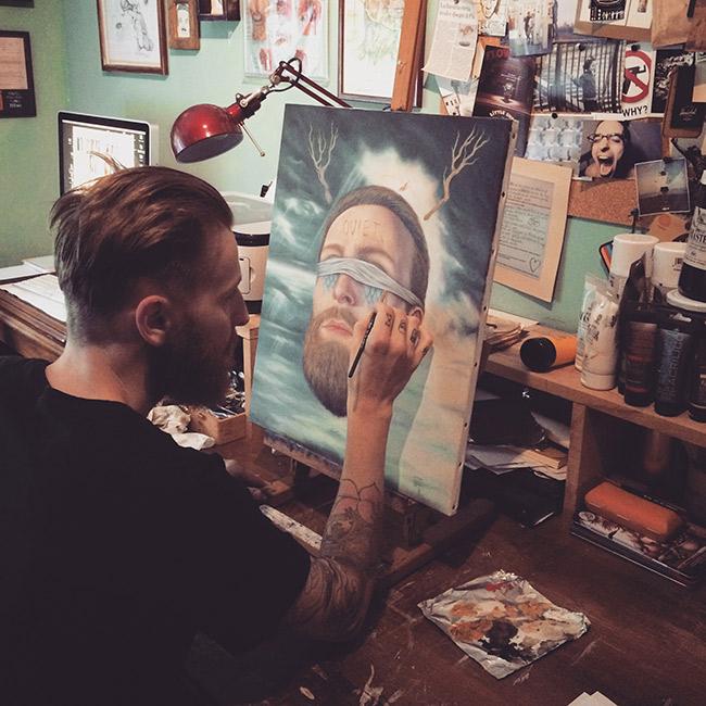 P54 - Artist at Work