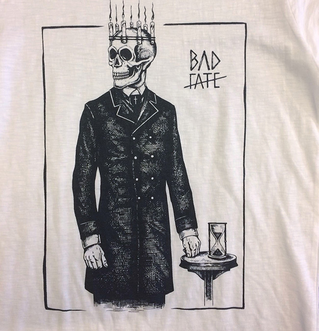 P54 - BAD FATE Skull