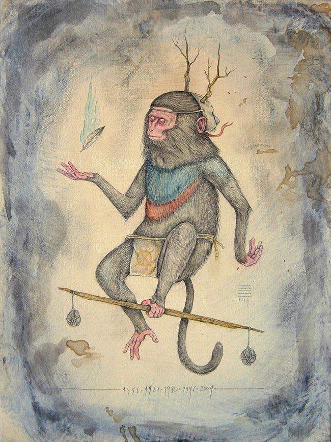 P54 - Zodiac Monkey