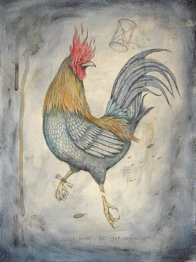 P54 - Zodiac Rooster