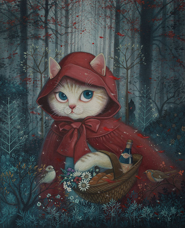 Phoenix Chan - Little Red Riding Hood - Cat Edition