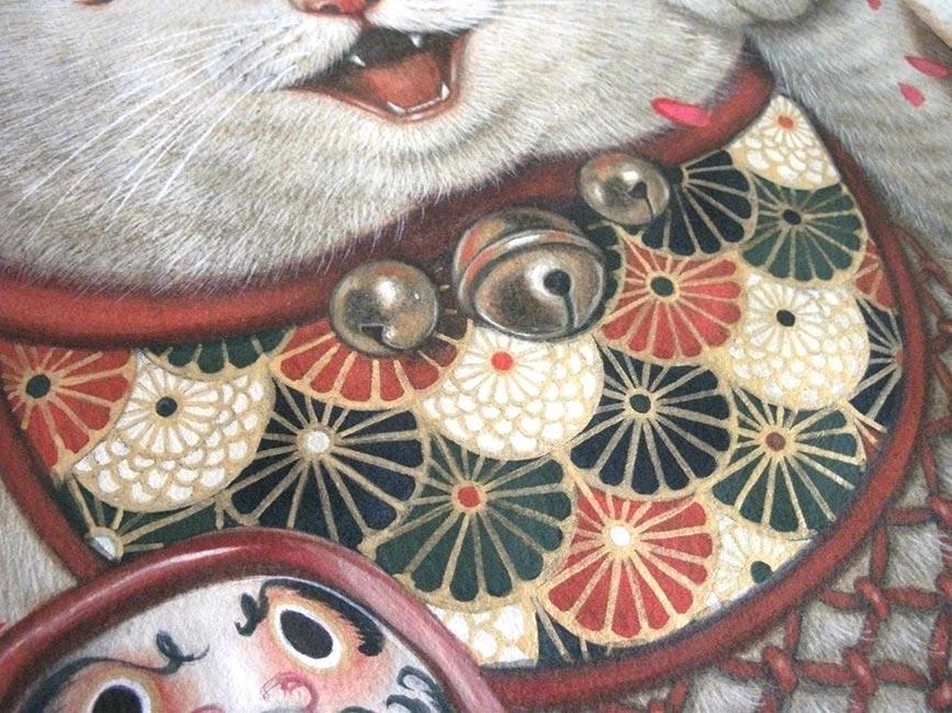 Phoenix Chan - Maneki Neko (Detail)
