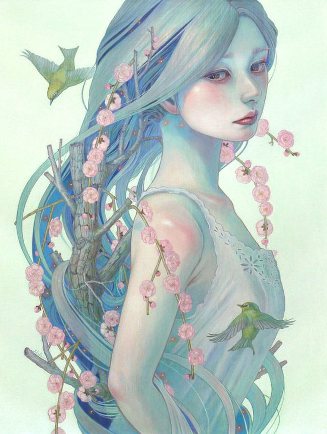 Miho Hirano - A Gift from the Ancient - Meadow Plum