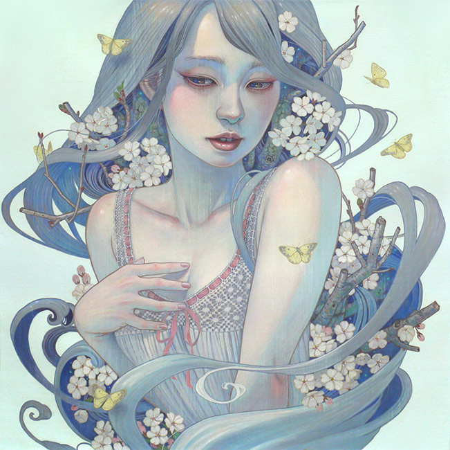 Miho Hirano - A Gift from the Ancient - Yoshino Cherry Tree