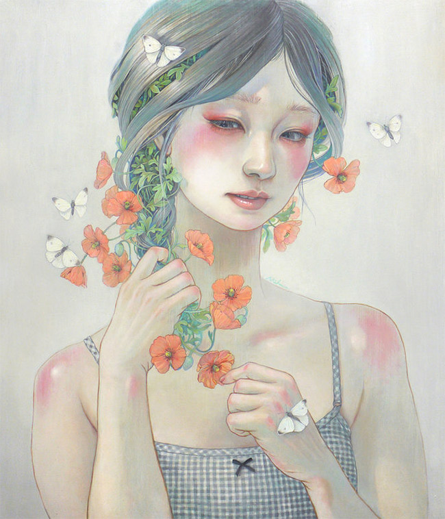 Miho Hirano - Temptation - Corn Poppy
