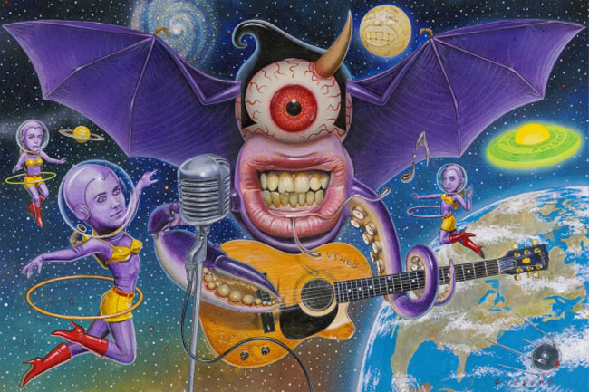 Thomas Gieseke - One-Eyed One-Horned Flying Purple People Eater