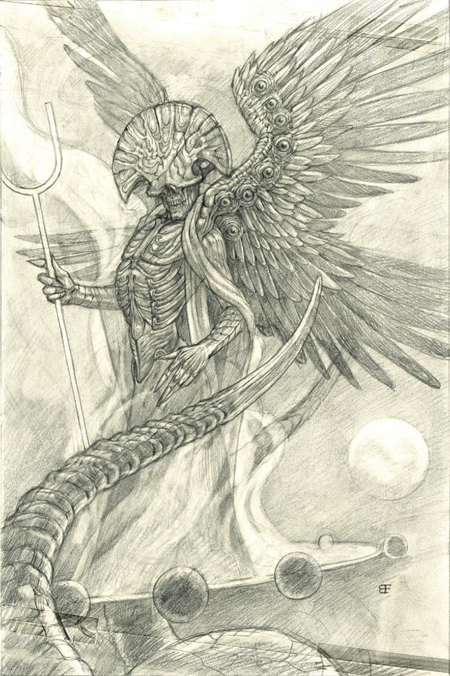 Brendon Flynn - Angel of Death (Sketch)